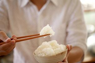 御飯、白米、和食の写真素材 [FYI04803647]