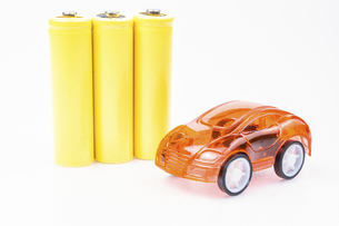 【EV】電気自動車 模型の写真素材 [FYI04803684]