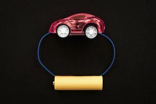 【EV】電気自動車 テクノロジーイメージの写真素材 [FYI04803685]
