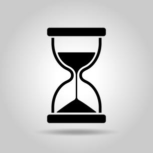 砂時計のアイコンのイラスト素材 [FYI04803902]