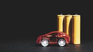 【EV】電気自動車 模型の写真素材 [FYI04803919]