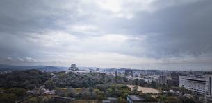 和歌山城全景。の写真素材 [FYI04804055]