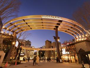 池袋西口公園野外劇場 東京都の写真素材 [FYI04804141]