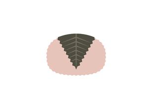 さくら餅 イラストのイラスト素材 [FYI04804620]