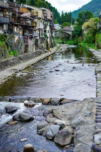 郡上八幡 吉田川の写真素材 [FYI04804775]