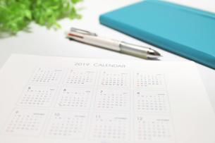 年間カレンダーの写真素材 [FYI04804929]