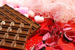 バレンタイン用のチョコレートの写真素材 [FYI04804934]