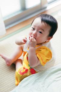 赤ちゃんの写真素材 [FYI04805145]