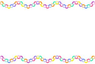 カラフルな輪飾りのイラストのイラスト素材 [FYI04805407]