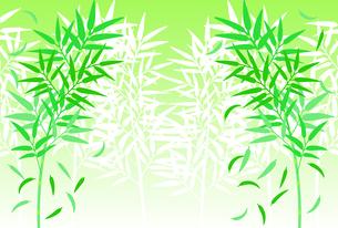 群生している笹のイラストのイラスト素材 [FYI04805419]