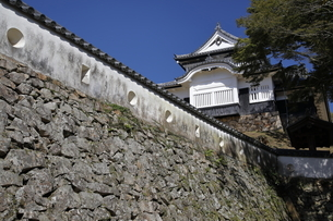 備中松山城、天守閣。の写真素材 [FYI04805650]
