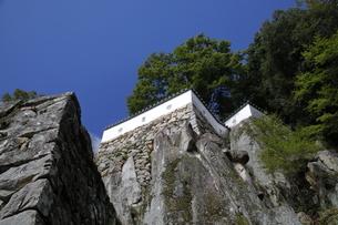 備中松山城、三の丸跡。の写真素材 [FYI04805656]
