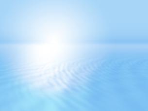 波打つ明るい空間ときらめく光芒のイラスト素材 [FYI04805729]