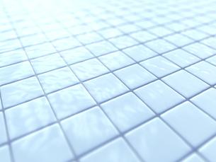 日差しに冴える濡れたタイルのイラスト素材 [FYI04805739]