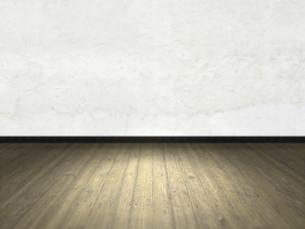 床と壁だけの簡素な空間のイラスト素材 [FYI04805852]