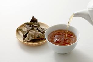 柿茶の写真素材 [FYI04806782]