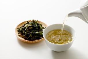 桑茶の写真素材 [FYI04806783]