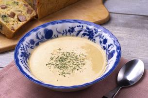 コーンスープの写真素材 [FYI04806796]