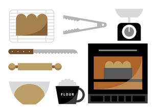 食パン作り イラストのイラスト素材 [FYI04806900]