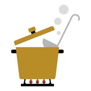 鍋料理 イラストのイラスト素材 [FYI04806991]