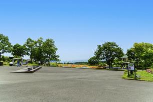 うららかな春の季節 花公園風景(くじゅう花公園)の写真素材 [FYI04807004]
