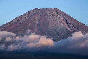 朝霧高原 富士山の写真素材 [FYI04807495]