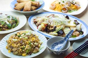 中華食卓の写真素材 [FYI04807537]