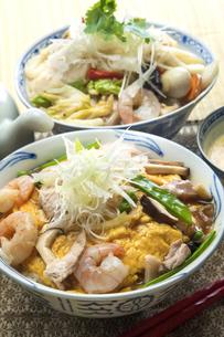 天津丼と中華丼の写真素材 [FYI04807538]