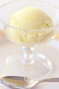バニラアイスクリームの写真素材 [FYI04807702]