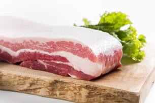 豚バラ肉の写真素材 [FYI04807897]