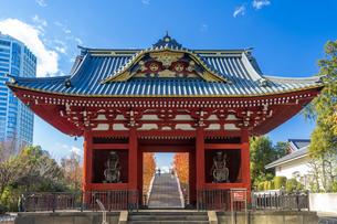 旧台徳院霊廟惣門の写真素材 [FYI04808023]