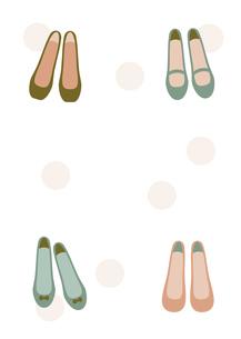 春物レディースシューズのイラストのイラスト素材 [FYI04808222]