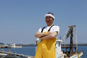 日本人漁師の写真素材 [FYI04808234]