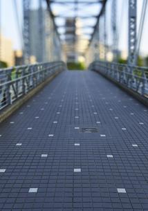 天王洲ふれあい橋の写真素材 [FYI04808286]
