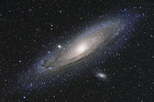 アンドロメダ銀河の写真素材 [FYI04808848]