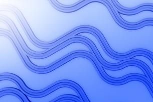 波状の線と光 CGのイラスト素材 [FYI04809212]