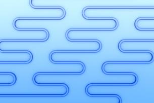 波状の線の模様 CGのイラスト素材 [FYI04809280]