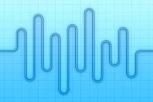 波状の線の模様 CGのイラスト素材 [FYI04809281]