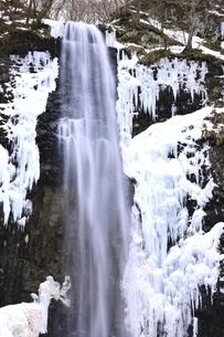 玉簾の滝 山形県の写真素材 [FYI04809522]