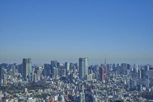 東京の街並みの写真素材 [FYI04810017]