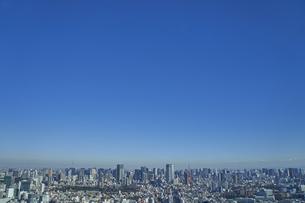 東京の街並みの写真素材 [FYI04810019]