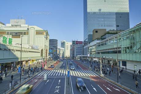 新宿駅前の写真素材 [FYI04810029]