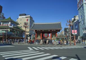 浅草の雷門の写真素材 [FYI04810057]