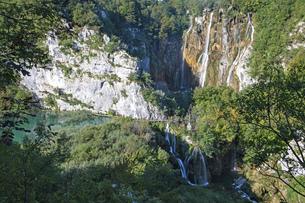 クロアチア  プリトヴィッツェ湖群国立公園の写真素材 [FYI04810075]