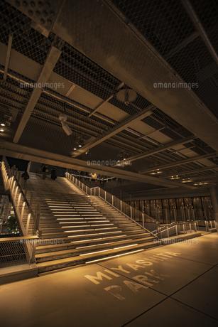 渋谷 ミヤシタパークの階段の写真素材 [FYI04810465]