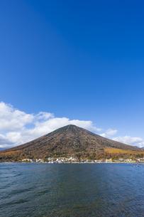 【栃木県】奥日光 中禅寺湖と男体山の写真素材 [FYI04810567]