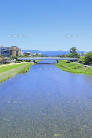 鴨川と御池大橋 の写真素材 [FYI04810771]