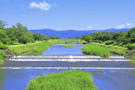 川と青空の写真素材 [FYI04810777]
