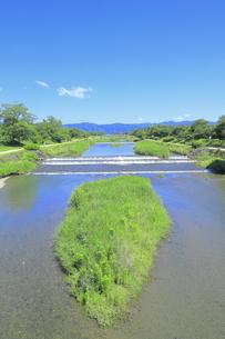 川と青空の写真素材 [FYI04810779]
