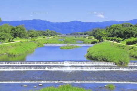 川と青空の写真素材 [FYI04810780]